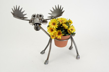 Moose Pot Holder - Yard Art